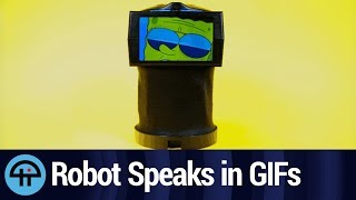 A Robot That Communicates in GIFs