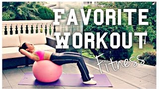 FITNESS I My Favorite Workout ♡