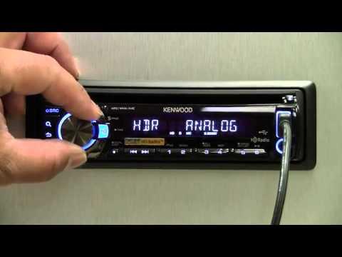 KDC-HD548U w/Built in HD Radio - YouTube
