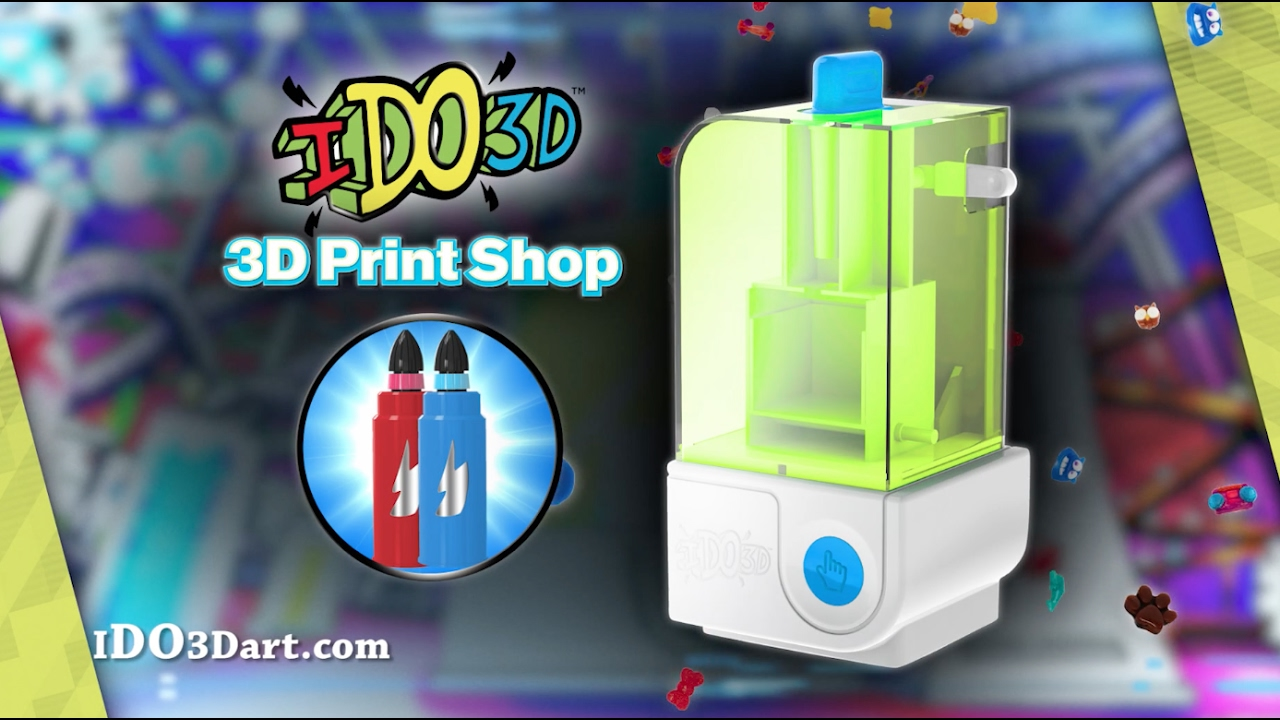 ido3d print shop coming soon youtube. Black Bedroom Furniture Sets. Home Design Ideas