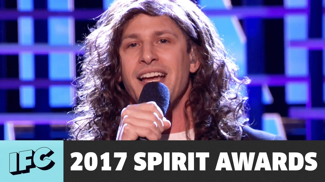Andy Samberg Sings 'Still Alive' as Eddie Vedder | 2017 Spirit Awards
