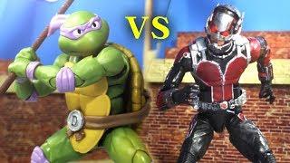 Antman VS Ninja Turtle Stop Motion
