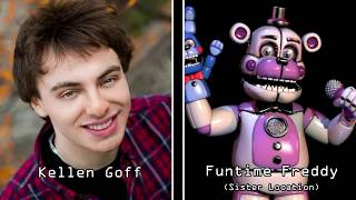 Five Nights at Freddy's: The Entire Voice Cast