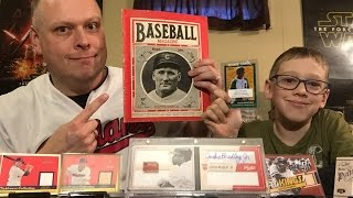 Mansfield, MA Sports Card Show Review for March 2016 - Auto Booklet & Baseball Magazne