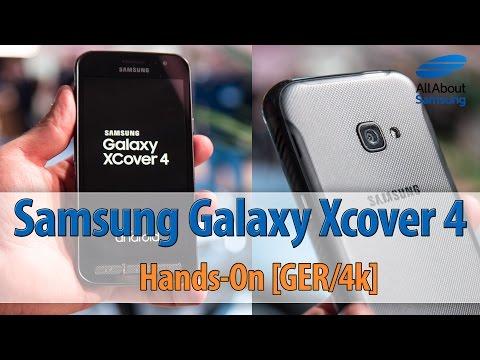 Samsung Galaxy Xcover 4 Hands On deutsch 4k