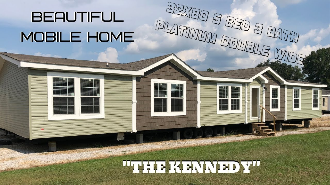 Mobile Home | 32x80 5 bed 3 bath Platinum Kennedy | Beautiful Double on