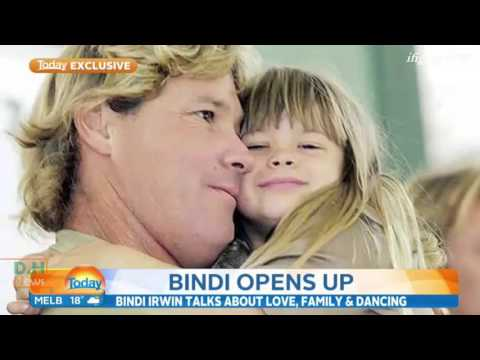 "Bindi Irwin talks to ""Today Show"" - November 2, 2015"