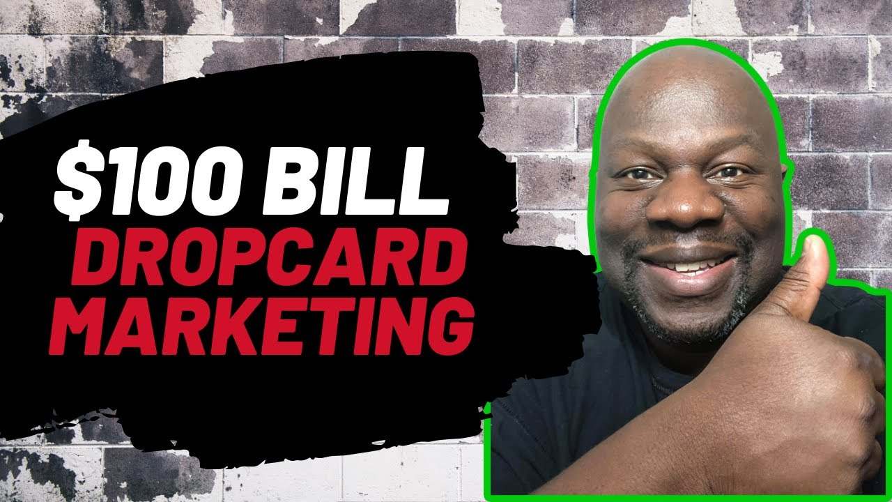 Drop Card Marketing How To Use Drop Cards To Turn Credit Card