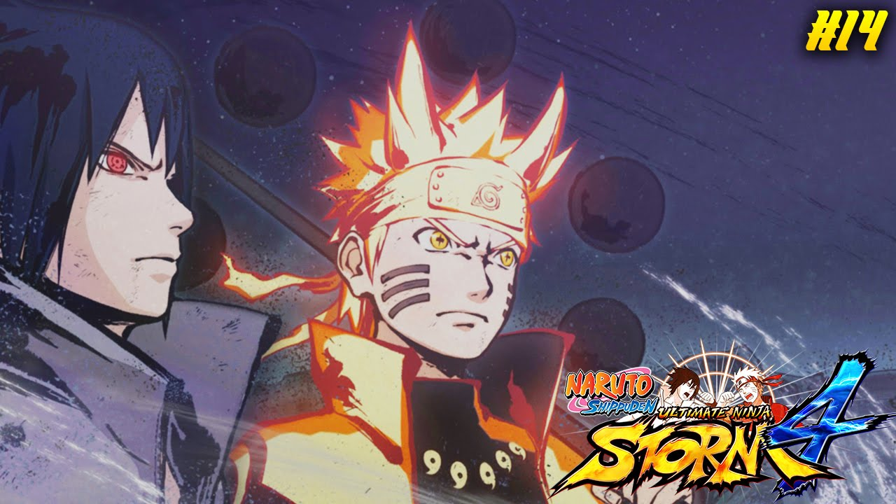 naruto ultimate ninja storm 4 story mode naruto and sasuke vs sage