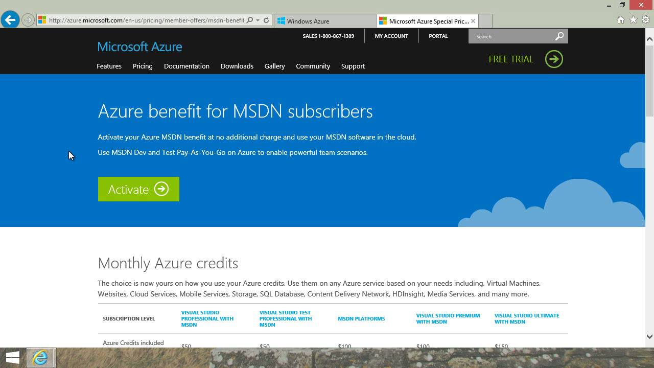 Just 3 min: How to sign up for Windows Azure
