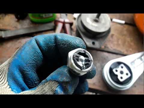 Замена подушки мотора ваз 2110-12