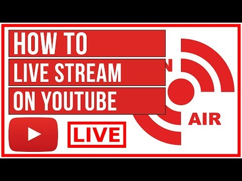 How To Live Stream On YouTube - Start To Finish 2019
