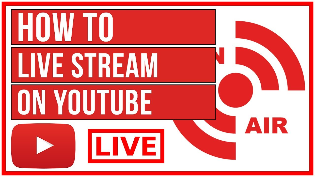 How To Live Stream On Youtube Start To Finish 2019 Youtube
