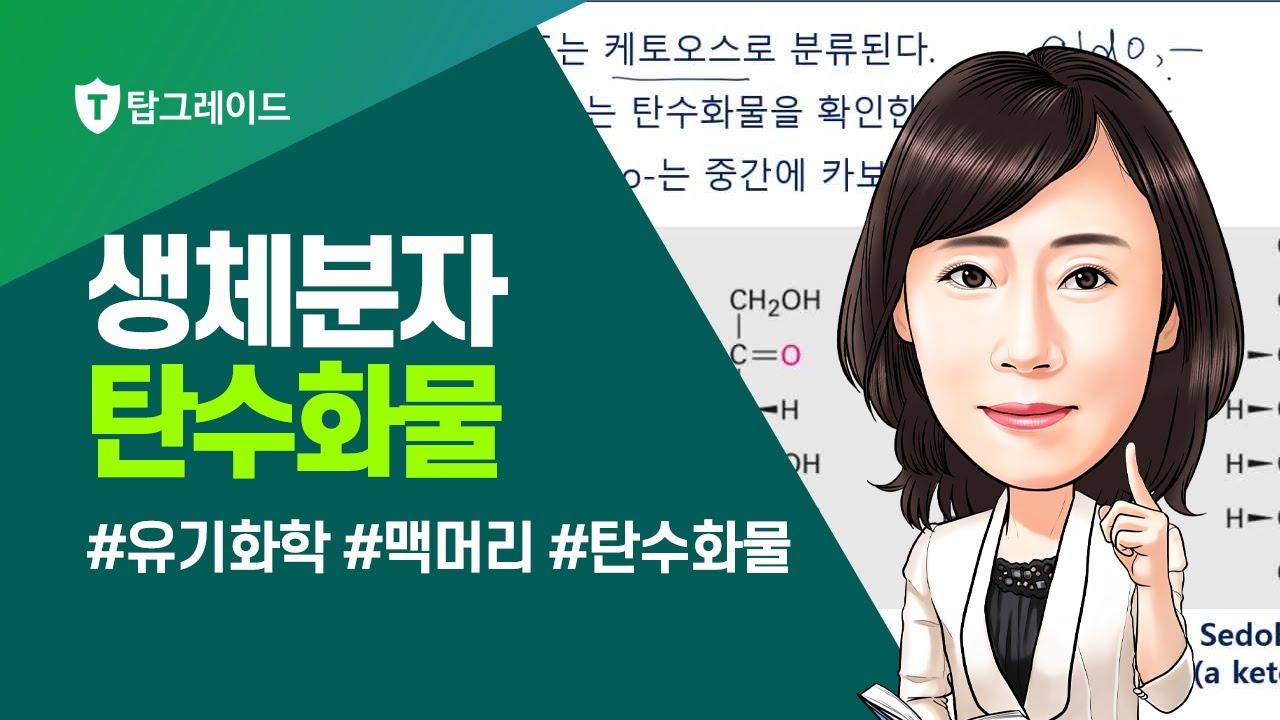 맥머리 유기화학 9판 - 제26장 생체분자 탄수화물(1)