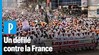 Caricatures : des dizaines de milliers de manifestants contre la France auBangladesh