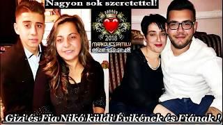 Gambar cover Markovics József - Gizi És Fia Nikó Küldik Évikének És Fiának Edunak 2018