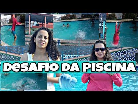 Desafio Da Piscina E Pequeno Vlogs Youtube