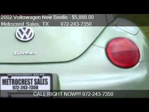 2002 Volkswagen New Beetle GLX Turbo - for sale in Farmers B