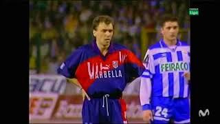 1995/96.- RC Deportivo La Coruña 2 Vs. Atlético Madrid 2 (Liga - Jª 29)
