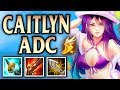 ADC Lessons with Anklespankin! Pool Party Caitlyn - League of Legends S8
