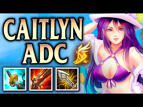 ADC Lessons with Anklespankin! Pool Party Caitlyn - League of Legends S8 thumbnail