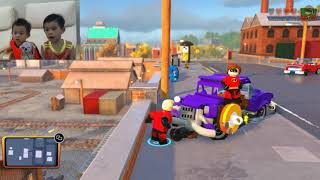 Incredibles 2 Lego  Up in the air and down to the water