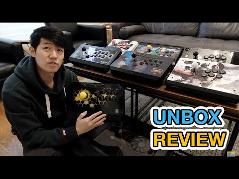 Qanba Drone review unboxing ps3/ps4/pc arcade fight stick