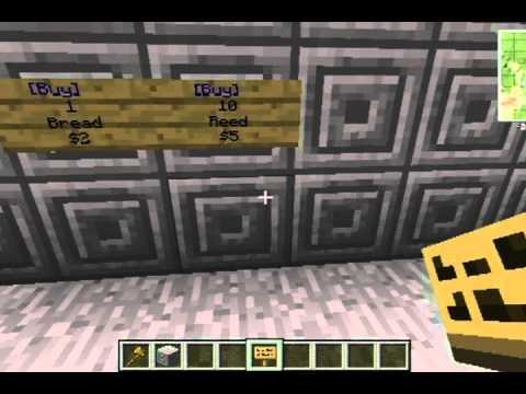 minecraft how to buy stuff on servers