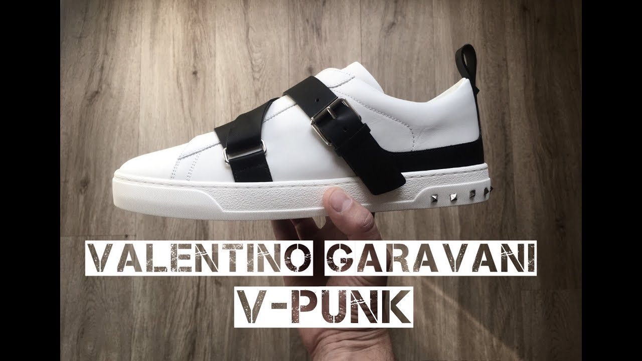 Valentino Punk Garavani On V 'white'Unboxingamp; Feet Luxury 0wOPkn