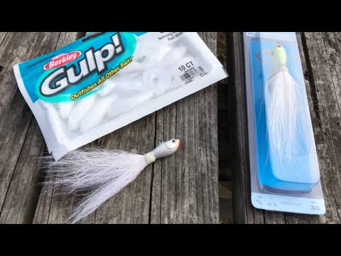 Bucktail Fishing - Review Of The Trokar Big Nasty Bucktail