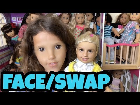 Crazy American Girl Doll Face Swap