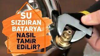 Su Sızdıran Batarya Musluk Nasıl Tamir Edilir?