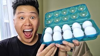 EXTREME EGG ROULETTE CHALLENGE!!!