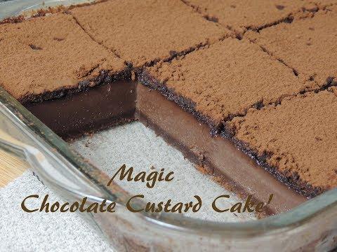 Magic Chocolate Custard Cake -Recipe- | Ep #142