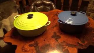 THRIFT STORE Find Of The Day. Le Creuset Cast Iron French Ovens.