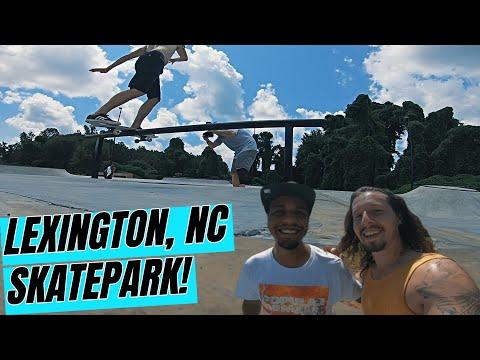 Lexington, NC Skatepark!