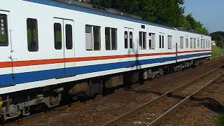 [警笛あり]関東鉄道常総線 キハ2100形2107編成 取手駅付近通過