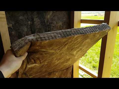Утеплитель Кнауф в каркасе. Как чешут по ушам производители и продавцы базальта