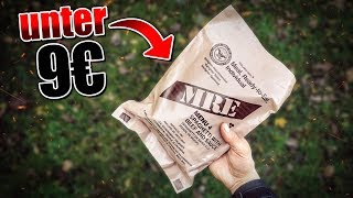 MRE USA Kampfration - Militär Outdoor Nahrung - Ausrüstung Review | Fritz Meinecke Gear