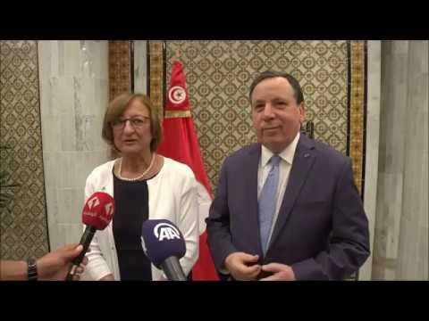 وزير الخارجية يستقبل الأمينة العامة المساعدة بمجلس أوروبا