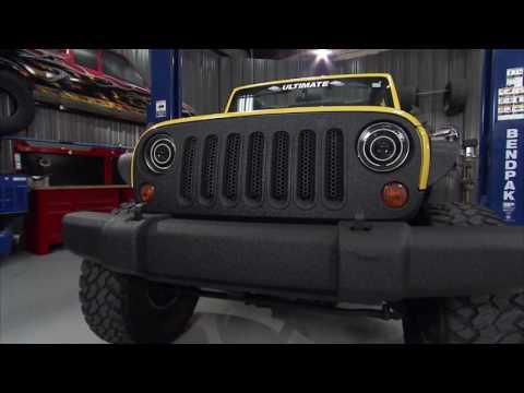 Rhino Linings Jeep Wrangler on Truck U