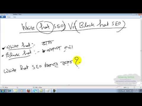 Lesson 38: Whit Hat SEO vs Black Hat SEO