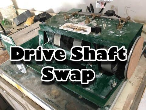 "Drive Shaft Repair on a Covington 6"" Combo Lapidary Saw Unit"