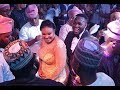 Big Men and women sprays The Couple as they show off their dancing skills as Niyi Johnson Strom In