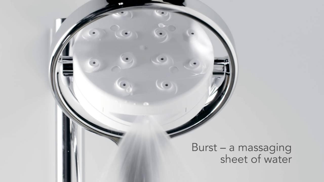 Mira Digital Shower >> Mira Vier Rear Fed Digital Shower Youtube