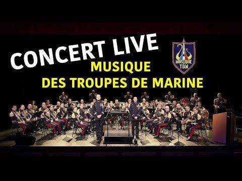 Journée des Blessés : Concert de la Musique des Troupes de Marine