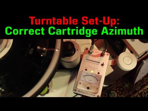 Turntable Setup: AZIMUTH, Fozgometer usage