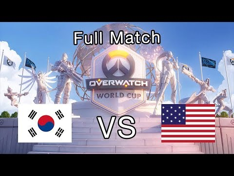 Full Match South Korea Vs United States - 2019 Overwatch World Cup