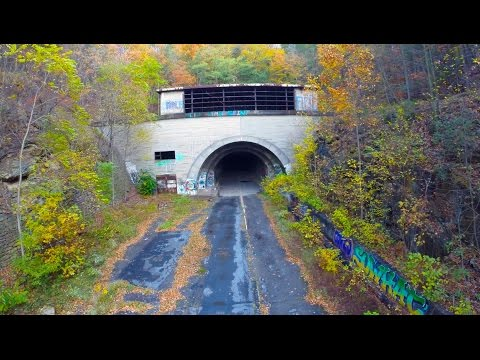 Abandoned Turnpike 2014 GoPro Drone Phantom 2