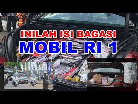 Download Jadi VIRAL Inilah Isi Bagasi Mobil Presiden Jokowi